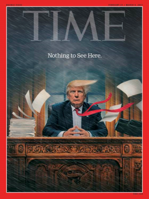 Trump Chaos, Time Magazine Cover