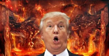trump hell cover